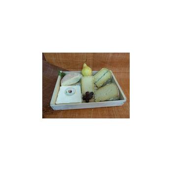 Le frais-Plateau Meuh oui - 5 fromages-LA CAPRARIUS