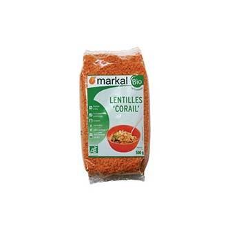 Lentilles corail- 500 g