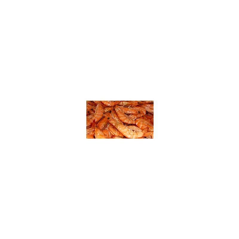 Poissonnerie-crevettes roses (cuites) - 100 grs env.-POISSONNERIE SOHIER