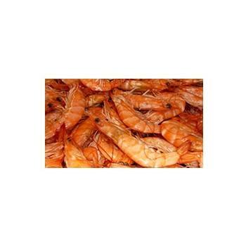 Poissonnerie-crevettes roses (cuites) - Barquette 2 kg-La criée Rennaise