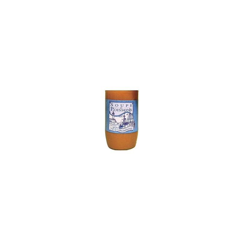 Poissonnerie-Soupe Poisson recette normande (avec creme)- (4 assiettes)-La criée Rennaise