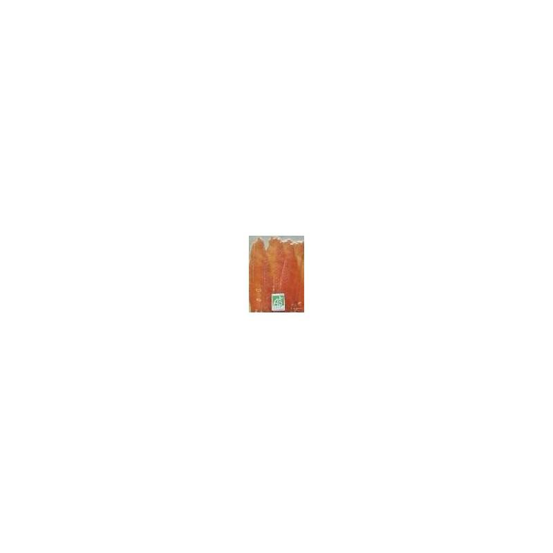 Poissonnerie-Saumon fumé bio - 4 tranches (210grs env)-LE FUMOIR GASTRONOMIQUE
