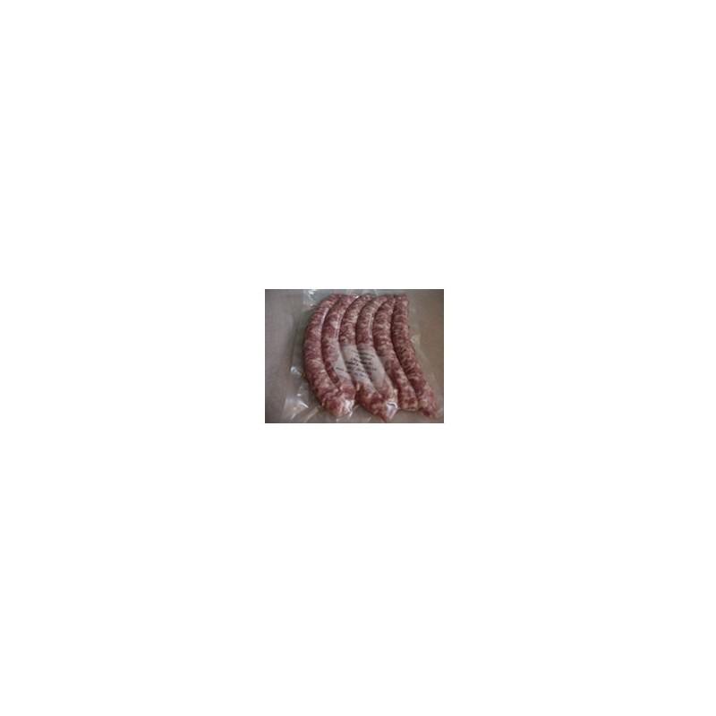 Viandes et Charcuterie-Chipolatas (6 bouts) - 420 g env.-CHARCUTERIES DE MONTIFAULT