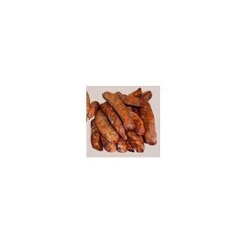 Viandes et Charcuterie-Saucisse fumée (2 bouts) - 300 g-CHARCUTERIES DE MONTIFAULT