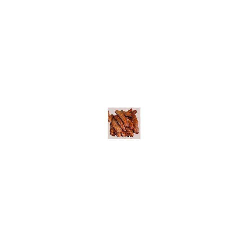 Viandes et Charcuterie-Saucisse fumée (6 bouts) - 900 g-CHARCUTERIES DE MONTIFAULT