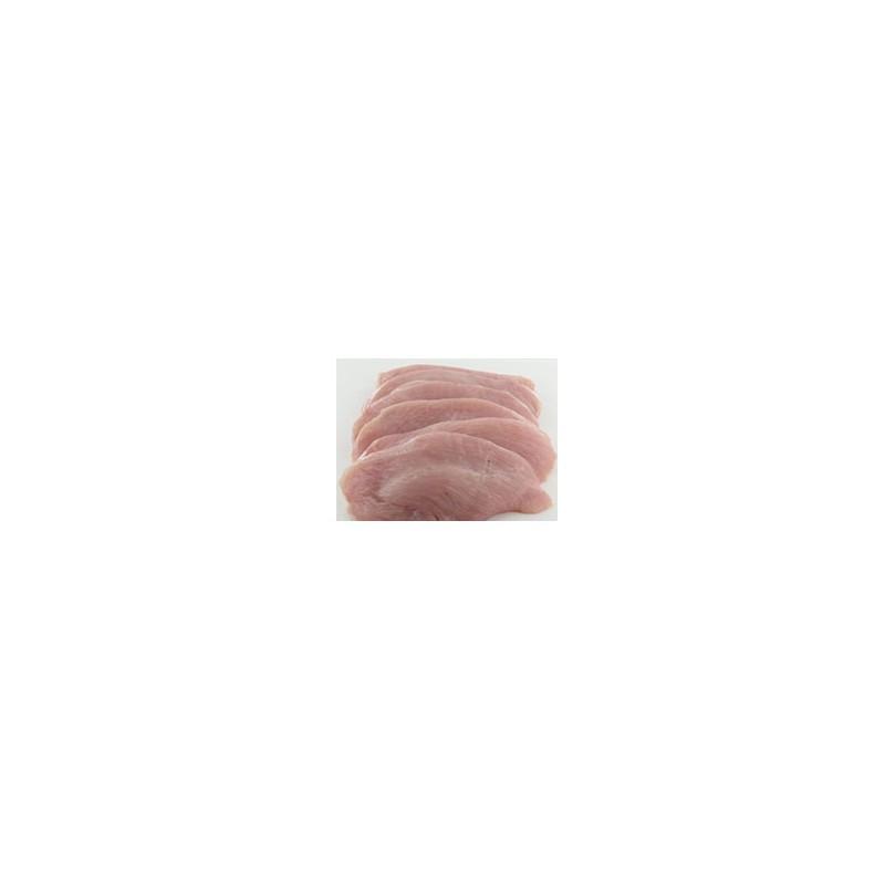Viandes et Charcuterie-Escalopes de dinde par 5 - 500 g-S.B.V.
