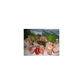 Viandes et Charcuterie-gigot préparé 1.1kg-S.B.V.