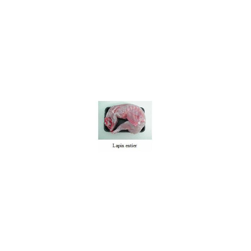 Viandes et Charcuterie-Lapin entier 1.5 kg (+/- 50 gr)-JANZE VOLAILLES