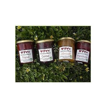 Confitures, crêpes et galettes bio-Confiture de Myrtille - 270 g-LES 4 GOURMANDS