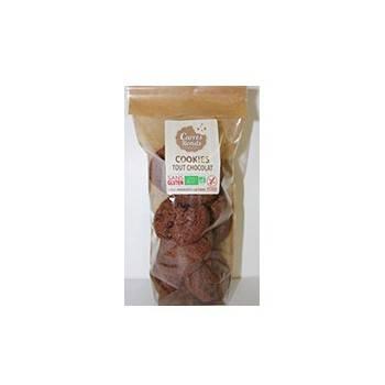 Boulangerie-Cookies Chocolat Bio Sans Glüten - 180 Grs-CARRE RONDS