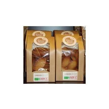 Boulangerie-Langues de chat bio sans glüten - 150 grs-CARRE RONDS