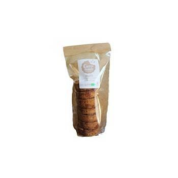Palets aux éclats de caramel au beurre salé bio - 190 grs