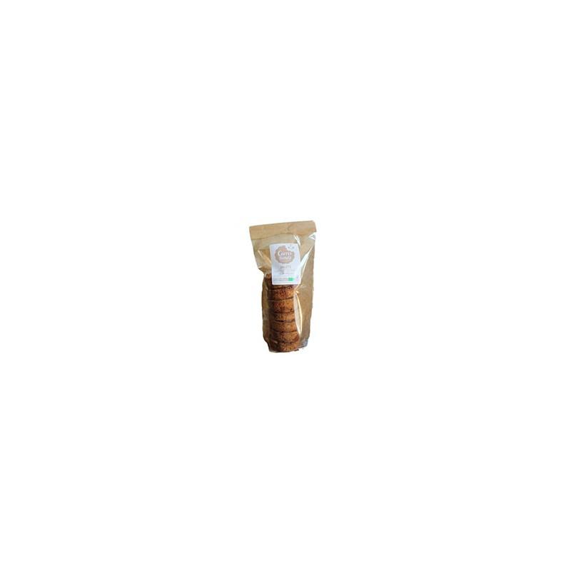 Boulangerie-Palets aux éclats de caramel au beurre salé bio - 190 grs-CARRE RONDS