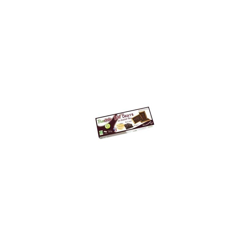 Boulangerie-Petit beurre au chocolat noir - Sans huile de palme -150 g-BIODIS