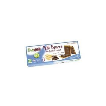 Boulangerie-Petit Beurre Chocolat Au Lait - Sans Huile De Palme - 150g-BIODIS
