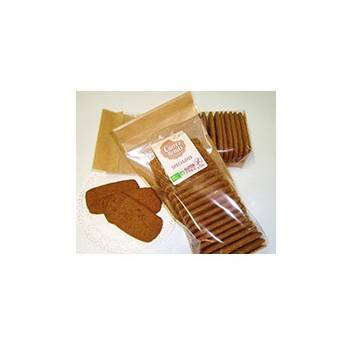 Boulangerie-Speculoos bio sans gluten - 150 grs-CARRE RONDS