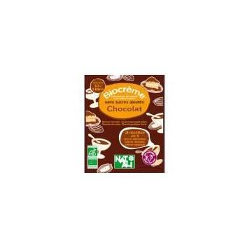 bio crème chocolat sachet de 45g- 1/2 l