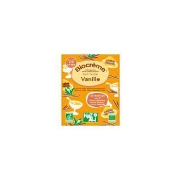 Produits Bio-bio crème vanille sachet de 45g- 1/2 l-BIODIS