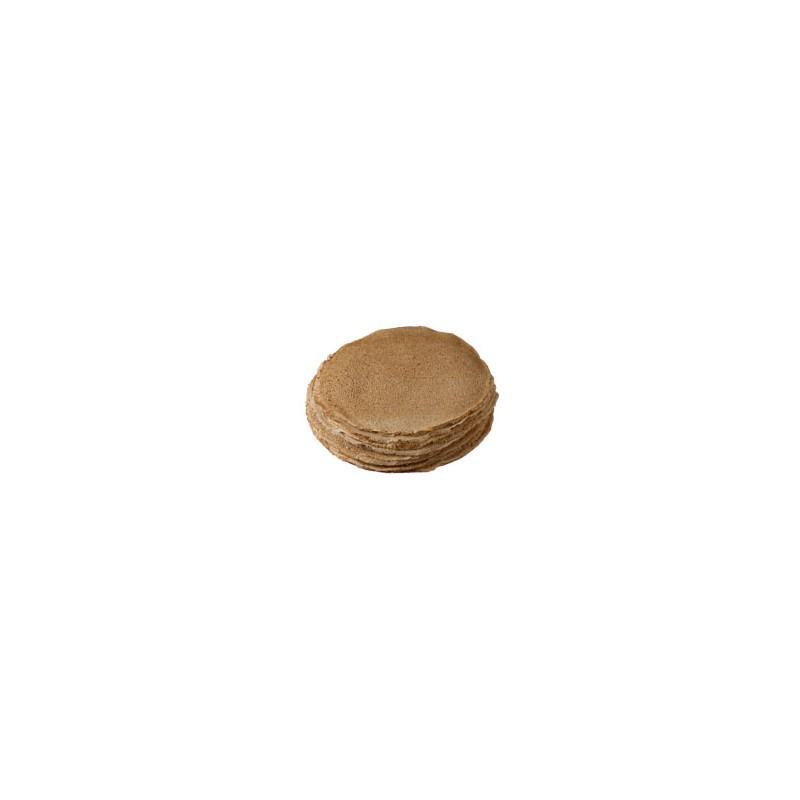 Galettes et crêpes-Galettes de blé noir SANS SEL - Par 6-CREPERIE COLAS