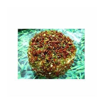 Le frais-crottin chevre bio duo de poivrons - 100 g-LA CAPRARIUS