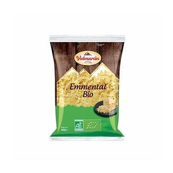 Fromage lait pasteurisé-Emmental râpé bio - 200 g Bio-BIODIS FRAIS