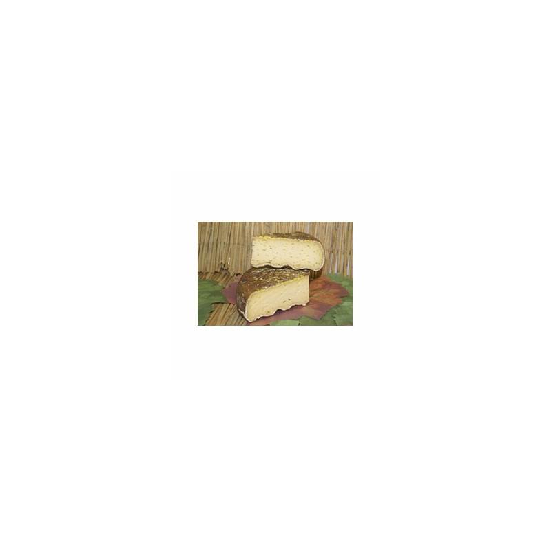 Le frais-Tomme HIC (vache) affinée au cidre - 200 g-LA CAPRARIUS