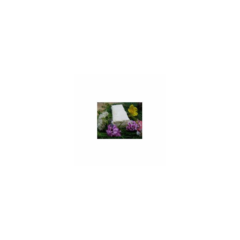 Le frais-brique de brebis 1/2 fraîche bio-300 grs-LA CAPRARIUS