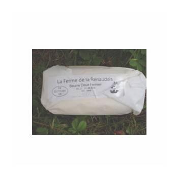 Le frais-beurre fermier doux - 250g-FERME DE LA RENAUDAIS