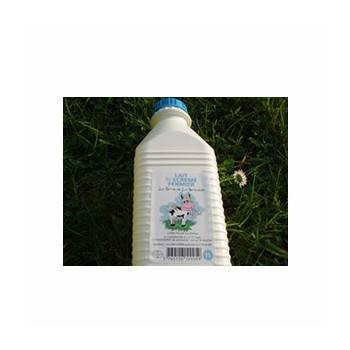 Lait frais 1/2 écrémé (ferme renaudais) - 1 litre