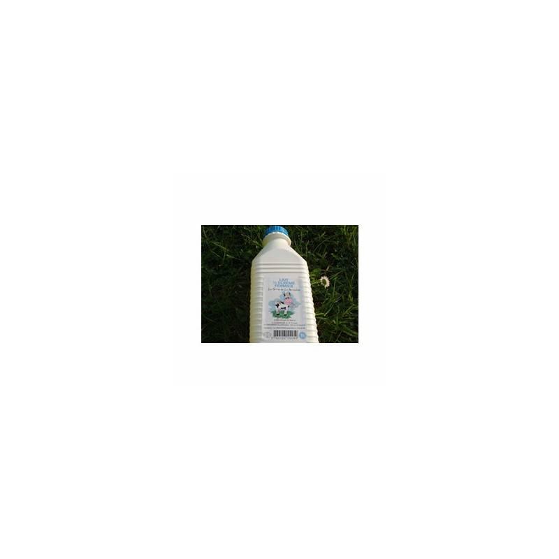 Le frais-Lait frais 1/2 écrémé (ferme renaudais) - 1 litre-FERME DE LA RENAUDAIS