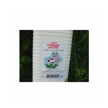 Lait frais entier (ferme renaudais) - 1 litre