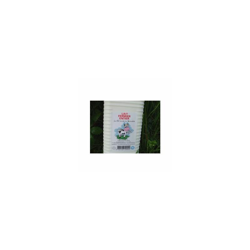 Le frais-Lait frais entier (ferme renaudais) - 1 litre-FERME DE LA RENAUDAIS