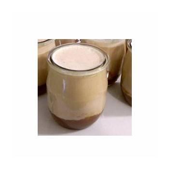 Le yaourt brassé mûres/framboise non sucré- unité