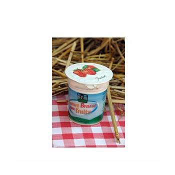Le frais-Yaourt brassé aux fruits- Lot de 4-FERME DE LA SABLONNIERE