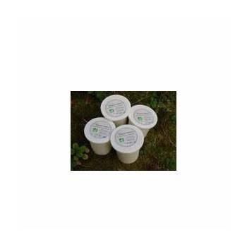 Le frais-yaourt nature bio - Lot de 4-ILLE AU PRE