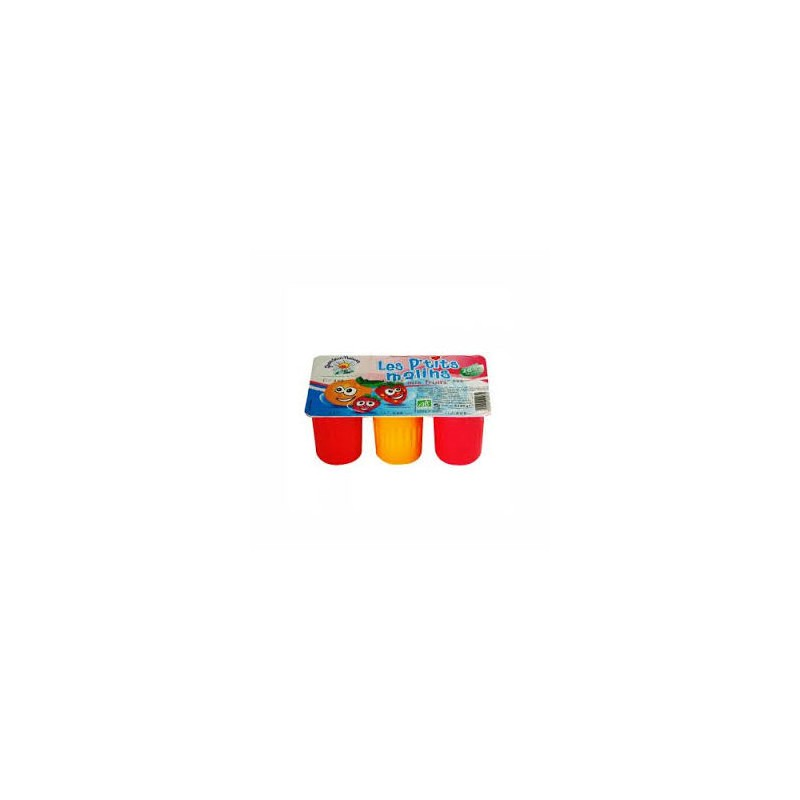Le frais-Fromage frais aux fruits (petit suisse) - bio 6*60g-BIODIS FRAIS