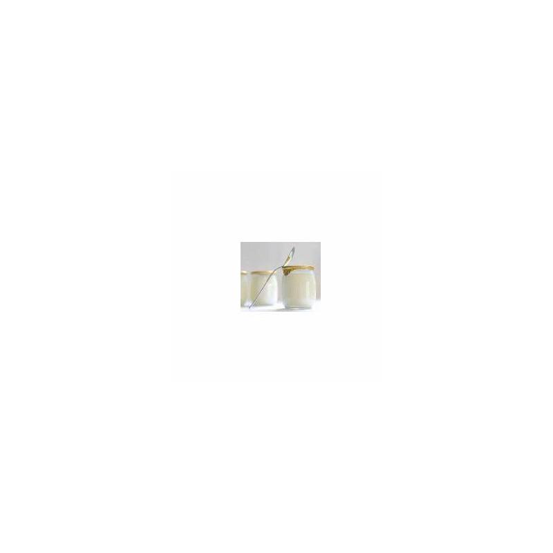 Le frais-Le yaourt brassé Nature sans sucre- unité-FERME MOUSSON
