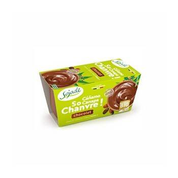 Dessert bio so chanvre chocolat - 2*100 g