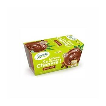 Le frais-Dessert bio so chanvre chocolat - 2*100 g-BIODIS FRAIS
