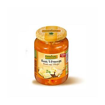 Plats cuisinés-Ravioli 3 fromages - Bio 670 grs-BIODIS