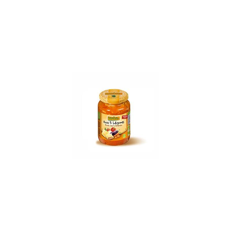 Plats cuisinés-Ravioli aux légumes - Bio 670 grs-BIODIS