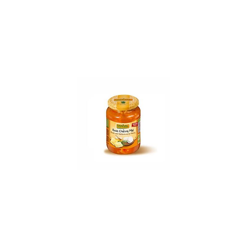 Plats cuisinés-Ravioli chèvre et miel - Bio 670 grs-BIODIS