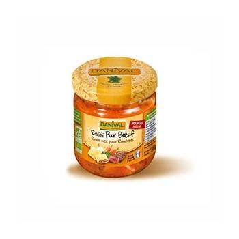 Plats cuisinés-Ravioli pur boeuf - Bio 360 grs-BIODIS