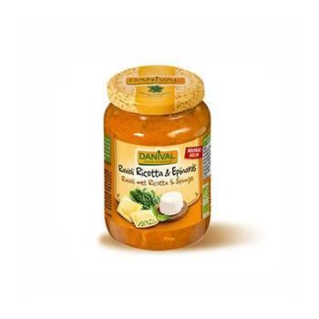 Plats cuisinés-Ravioli ricotta et épinard - Bio 670 grs-BIODIS