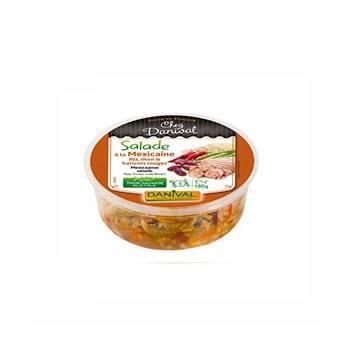 Plats cuisinés-salade mexicaine bio - 180 grs-BIODIS