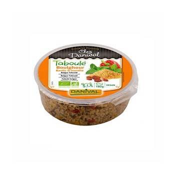 Plats cuisinés-Taboulé de boulgour bio - 180 grs-BIODIS