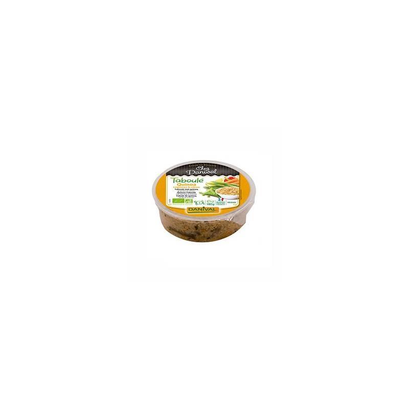 Plats cuisinés-Taboulé de quinoa bio - 180 grs-BIODIS