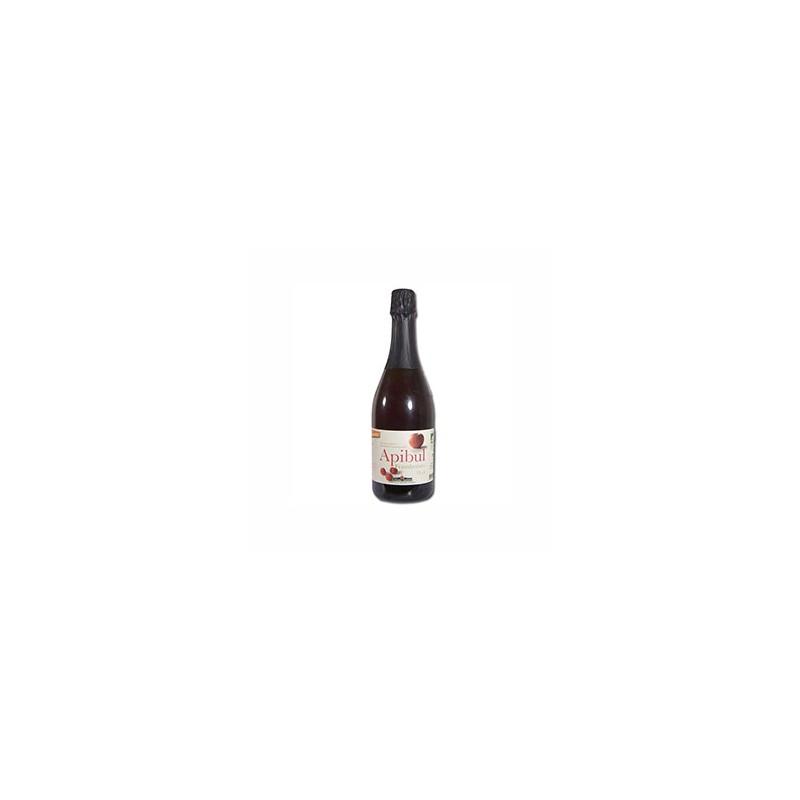 Boissons-Jus pétillant Pomme/ framboise bio - 75 cl-COTEAUX NANTAIS