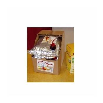 Boisson-Eco recharge Jus de pomme bio - 3 litres (BIB)-BIODIS