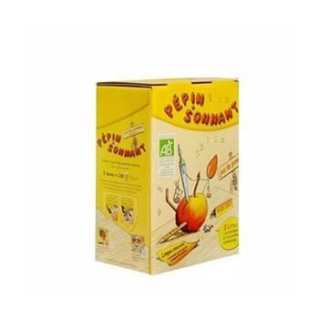 les jus de fruits-Jus de pomme bio - 3 litres (BIB)-BIODIS